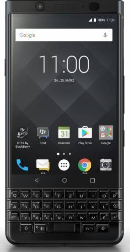 imagine 0 Telefon Mobil BlackBerry KEYone Qwerty 64GB 4G Black Edition bbkeyoneblk