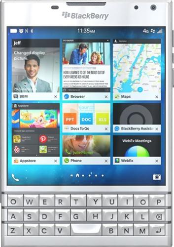 imagine 0 Telefon Mobil BlackBerry Passport 4G White Resigilat ilbbpassw_resigilat