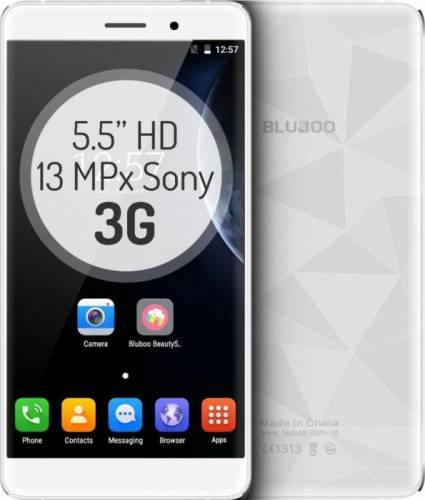 imagine 0 Telefon Mobil Bluboo Maya 16GB Dual Sim 3G White + Husa Silicon + Folie Sticla bb-maya-wh-kit