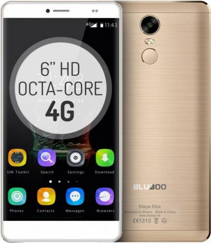 imagine 0 Telefon Mobil Bluboo Maya Max 32GB Dual Sim 4G Gold + Husa + Folie Sticla bb-maya-max-gd-kit