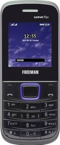 imagine 0 Telefon Mobil Eboda Freeman Speak T100 Dual SIM Negru-Albastru 5949023215556
