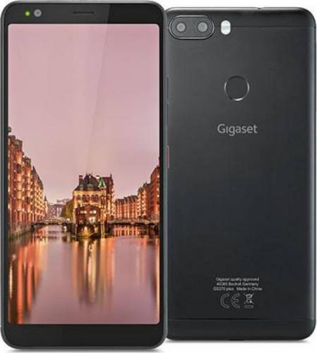imagine 0 Telefon mobil Gigaset GS370 Plus 64GB Dual Sim 4G Jet Black S30853-H1506-R101