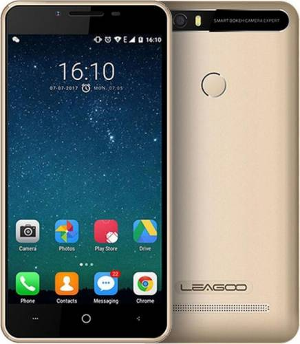 imagine 0 Telefon mobil Leagoo KIICAA Power Dual Sim Gold + HUSA si Folie Plastic LG-POWER-GD