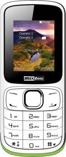 imagine 0 Telefon mobil MaxCom MM 129 Dual Sim White mm129 white