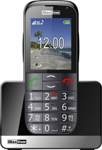 imagine 0 Telefon Mobil MaxCom MM 721 BB Black mm721bb 3g black