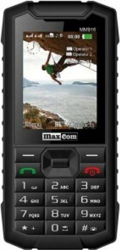imagine 0 Telefon Mobil MaxCom MM 916 Dual SIM Black mm916 3g black