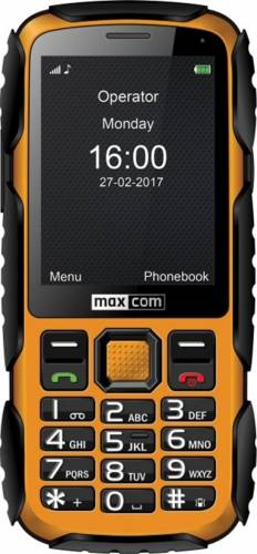 imagine 0 Telefon Mobil Maxcom Strong MM920 Yellow mm920 yellow