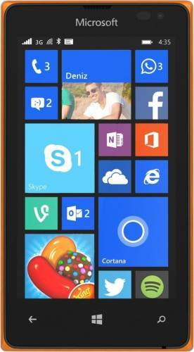 imagine 0 Telefon Mobil Microsoft Lumia 532 Dual SIM Orange mic532org.ds