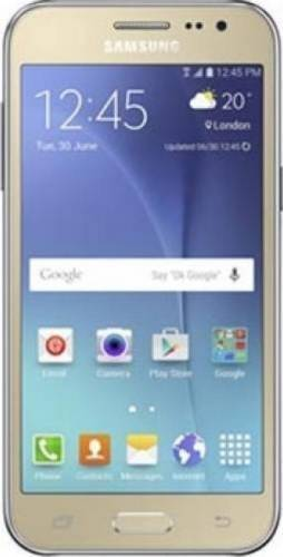 imagine 0 Telefon Mobil Samsung Galaxy J2 Duos Dual SIM Gold samj200gld.ds