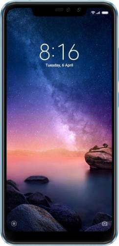 imagine 0 Telefon mobil Xiaomi Redmi Note 6 Pro 64GB Dual SIM 4G Blue X.RENT6PRO*4+64BLU