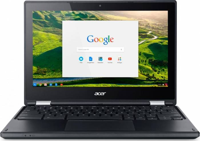 imagine 0 Ultrabook 2in1 Acer Chromebook R 11 C738T-C4NN Intel Celeron Braswell N3160 64GB eMMC 4GB Chrome OS HD nx.g55ex.006