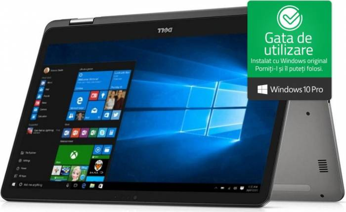 imagine 0 Ultrabook 2in1 Dell Inspiron 7773 Intel Core Kaby Lake R (8th Gen) i7-8550U 512GB SSD 16GB nVidia MX150 2GB Win10 Pro di7773i716512w10eg