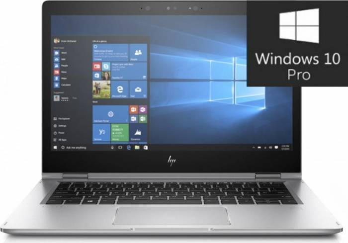 imagine 0 Ultrabook 2in1 HP Elitebook x360 1030 G2 Intel Core Kaby Lake i5-7300U 256GB Win10 Pro FullHD Tastatura ilum. 1EM36EA