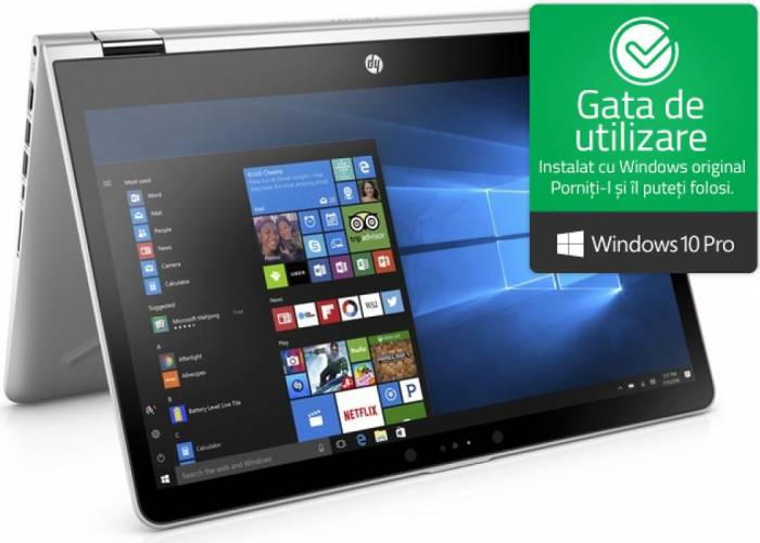 imagine 0 Ultrabook 2in1 HP ProBook x360 440 G1 Intel Core Kaby Lake R (8th Gen) i7-8550U 256GB SSD 8GB nVidia GeForce MX130 2GB Win10 Pro FHD FPR 4ls94ea