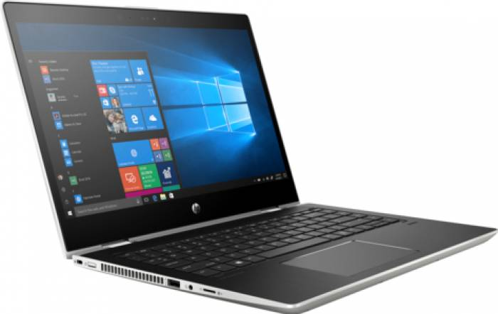 imagine 1 Ultrabook 2in1 HP ProBook x360 440 G1 Intel Core Kaby Lake R (8th Gen) i7-8550U 256GB SSD 8GB nVidia GeForce MX130 2GB Win10 Pro FHD FPR 4ls94ea