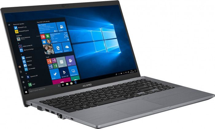 imagine 6 Ultrabook ASUS Pro P3540FA Intel Core  (8th Gen) i7-8565U 256GB SSD 8GB Win10 Pro FullHD FPR 3 ani garantie Grey p3540fa-bq0079r