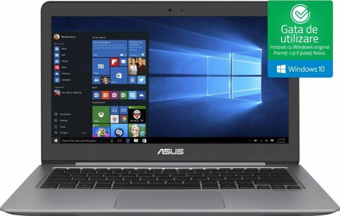 pret preturi Ultrabook Asus ZenBook UX530UQ Intel Core Kaby Lake i5-7200U 256GB SSD 8GB nVidia GeForce 940MX 2GB Win10 FullHD FPR
