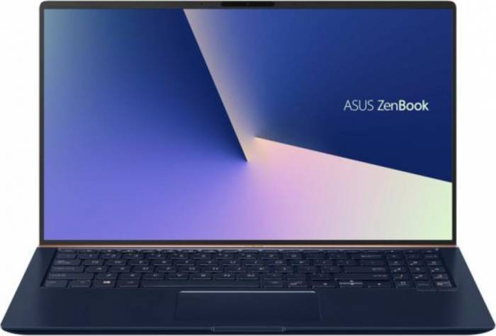 imagine 0 Ultrabook Asus Zenbook 15 Intel Core Whiskey Lake (8th Gen) i7-8565U 512GB 16GB GeForce GTX 1050 2GB Win10 Pro FullHD ux533fd-a8067r