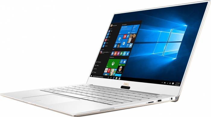 imagine 1 Ultrabook Dell XPS 9370 Intel Core Kaby Lake R (8th Gen) i7-8550U 512GB SSD 16GB Win10 Pro 4K UHD Touchscreen Tast ilum. dxps9370i716512wpg