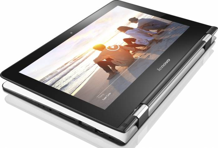 Ultrabook Lenovo IdeaPad YOGA 300-11 Dual Core N2840 500GB 2GB WIN8 Touch Alb 80m0004fri
