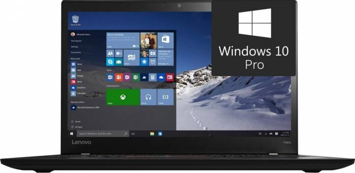 imagine 0 UltraBook Lenovo ThinkPad T460s Intel Core Skylake i7-6600U 256GB 12GB Win10 Pro FingerPrint FullHD 4G lnv20fa0047ri