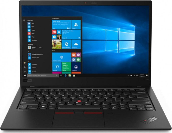 imagine 0 Ultrabook Lenovo ThinkPad X1 Carbon 7th Gen Intel Core (8th Gen) i7-8565U 512GB SSD 16GB FHD Win10 Pro Touchscreen LTE FPR 20QD0039RI
