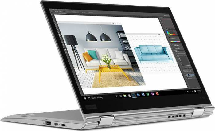 imagine 2 Ultrabook 2in1 Lenovo ThinkPad X1 Yoga Gen3 Intel Core (8th Gen) i5-8250U 512GB 8GB Win10 Pro Tast. il. FPR 20LF000RRI