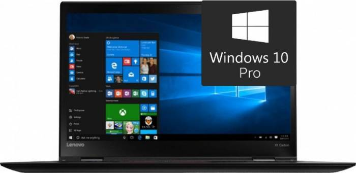 imagine 0 Ultrabook Lenovo X1 Carbon 4 Intel Core Skylake i5-6200U 256GB 8GB Win10 Pro FingerPrint FullHD 20FB006PRI