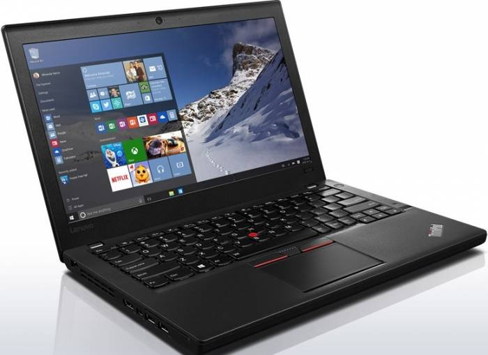 imagine 0 Ultrabook Lenovo ThinkPad X260 Intel Core Skylake i7-6500U 256GB 8GB Win10Pro Fingerprint 20f60020ri