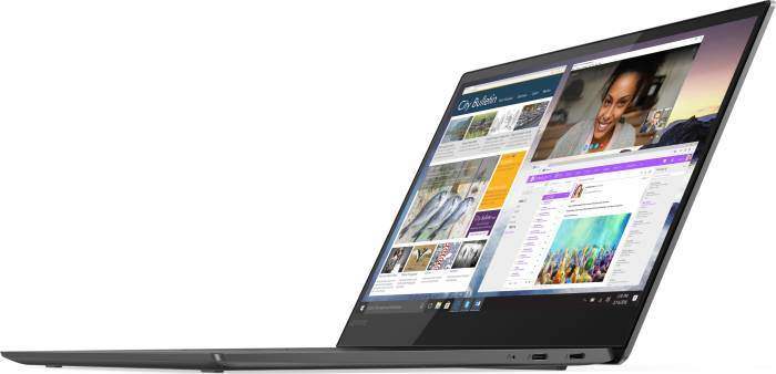 imagine 13 Ultrabook Lenovo Yoga S730-13IWL Intel Core Whiskey Lake (8th Gen) i5-8265U 512GB SSD 16GB Win10 FullHD IPS Tastatura ilum. FPR Iron Grey 81j0004mrm