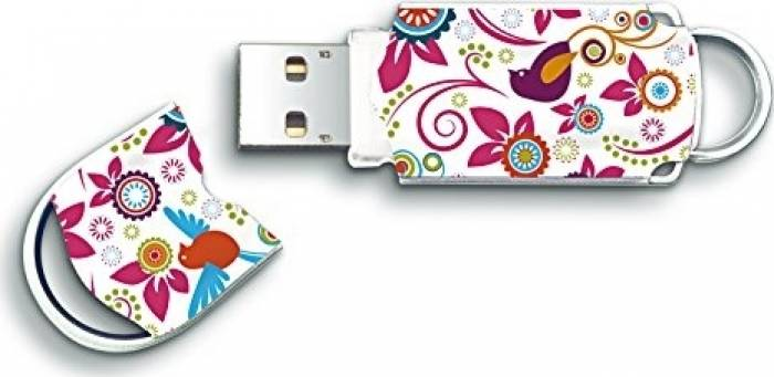 imagine 0 USB Flash Drive Integral Xpression Birds 8GB USB 2.0 infd8gbxprbir