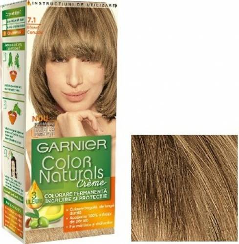 Vopsea De Par Garnier Color Naturals 7 1 Blond Cenusiu Poze Images