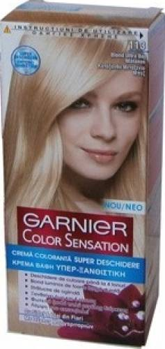 Vopsea De Par Garnier Color Sensation 113 Blond Ultra Bej Matasos