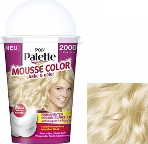 Vopsea De Par Schwarzkopf Palette Mousse Color 2000 Ultra Blonde
