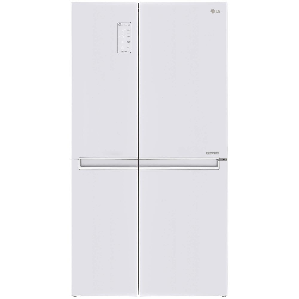 Frigidere Side By Side Side by Side LG GSB760SWXV 626 L Total No Frost Clasa A+ Inverter H 179 cm Alb