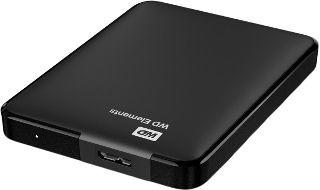 Hard disk-uri externe HDD extern WD Elements Portable 1TB 2.5 USB 3.0 Black