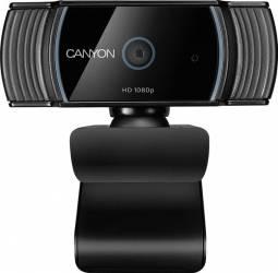 Camere Web Camera Web Canyon CNS-CWC5 Full HD 1080p Autofocus Microfon incorporat USB 2.0 Black