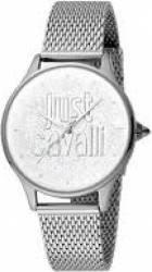 Ceasuri de dama Ceas Dama Just Cavalli Otel Inoxidabil JC1L032M0075 Argintiu