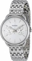 Ceasuri de dama Ceas de dama Fossil Tailor ES3712 Argintiu - curea otel inoxidabil