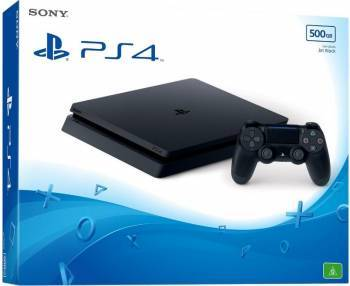 Console jocuri Consola Sony PlayStation 4 Slim 500GB E Black + Thats You VCH