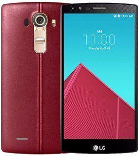 Telefoane Mobile Telefon Mobil LG G4 H818 Dual Sim 4G Piele Rosie