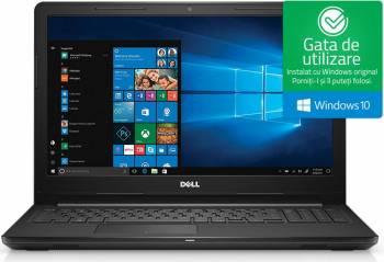 Laptop laptopuri Laptop Dell Inspiron 3567 Intel Core Kaby Lake i3-7020U 1TB HDD 4GB Win10 FullHD Negru