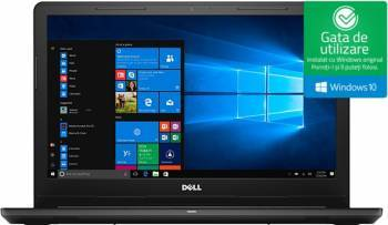 Laptop laptopuri Laptop Dell Inspiron 3567 Intel Core Skylake i3-6006U 1TB HDD 4GB Win10