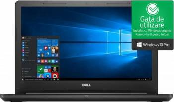 Laptop laptopuri Laptop Dell Vostro 3578 Intel Core Kaby Lake R (8th Gen) i7-8550U 256GB SSD 8GB AMD Radeon 520 2GB Win10 Pro FullHD