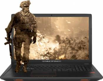 Laptop laptopuri Laptop Gaming Asus ROG GL753VE Intel Core Kaby Lake i7-7700HQ 1TB HDD 8GB nVidia GeForce GTX 1050 Ti 4GB Endless FullHD