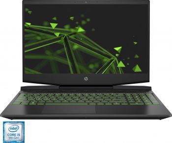 Laptop laptopuri Laptop Gaming HP Pavilion 15-dk0002nq Intel Core (9th Gen) i5-9300H 256GB SSD 8GB Nvidia GeForce GTX 1050 3GB FullHD Black