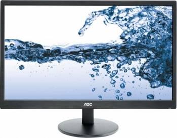 Monitoare LCD LED Monitor LED 22 AOC E2270SWD Full HD 5ms DVI Black