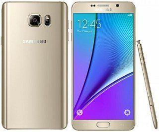 Telefoane Mobile Telefon Mobil Samsung Galaxy Note 5 N920 32GB 4G Gold