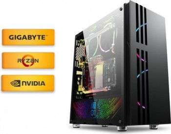 Calculatoare Desktop PC Gaming Diaxxa Powered by GIGABYTE Summer Edition Ryzen 5 1600 3.2GHz SSD 960GB 16GB DDR4 GTX 1660 OC 6GB