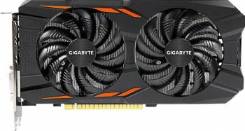 Placi video Placa video Gigabyte GeForce GTX 1050Ti Windforce OC 4GB GDDR5 128bit